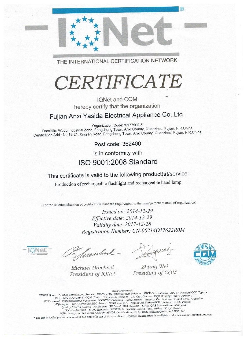 ISO 9001:28 Stand